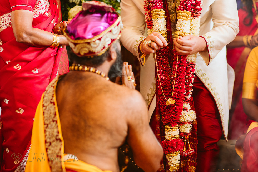 Tamil Wedding Thali ceremony Froyle Park