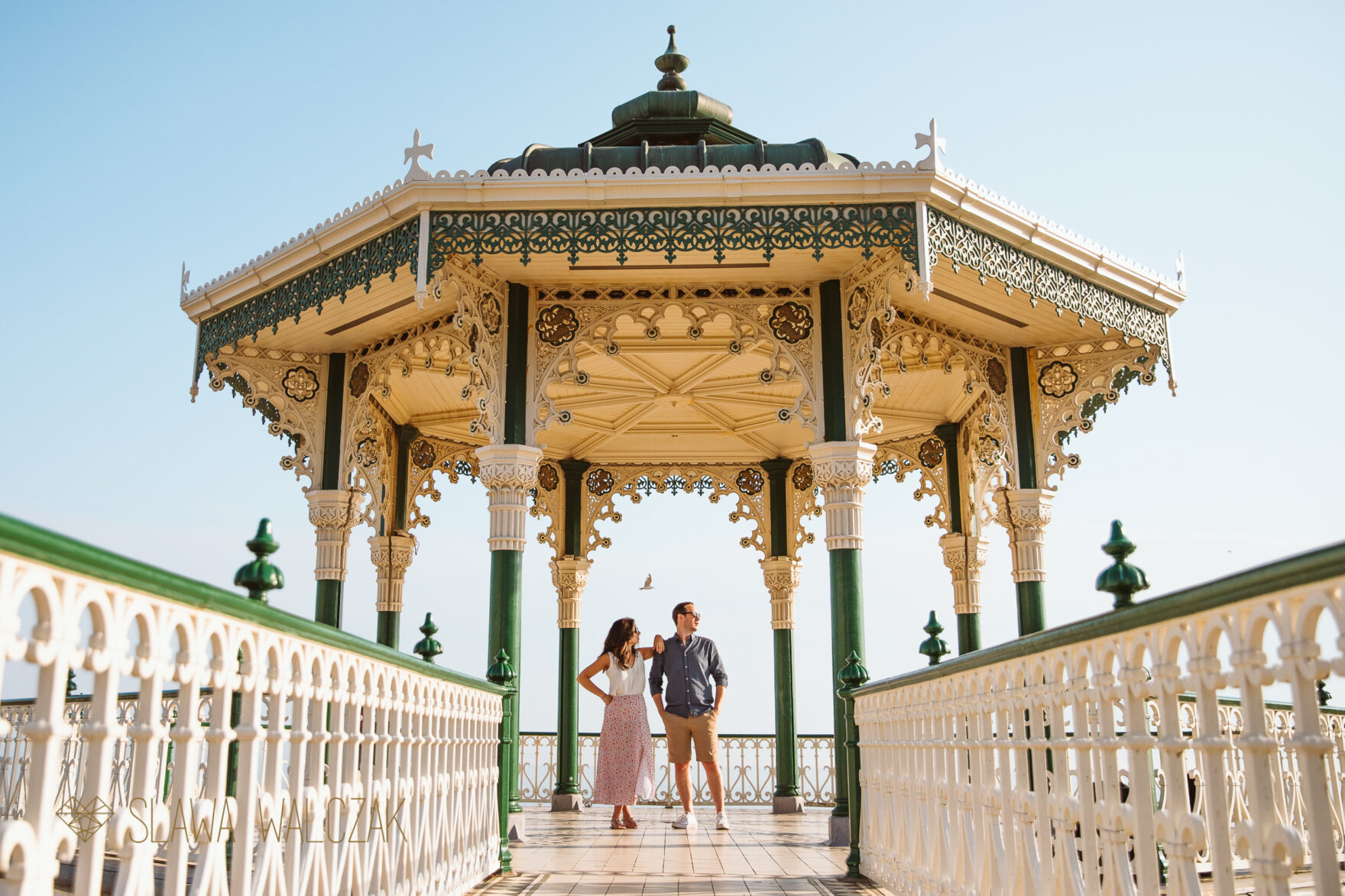 Engagement photos from Brighton