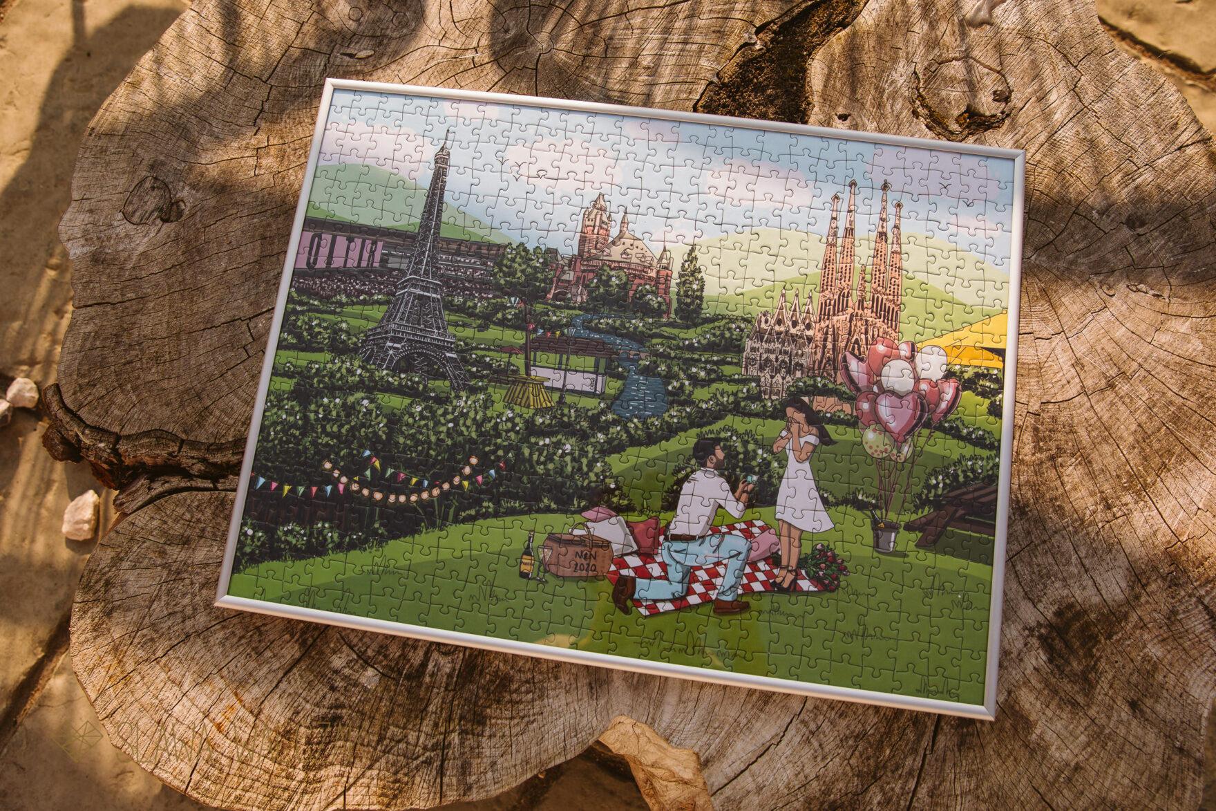 surprise proposal puzzle