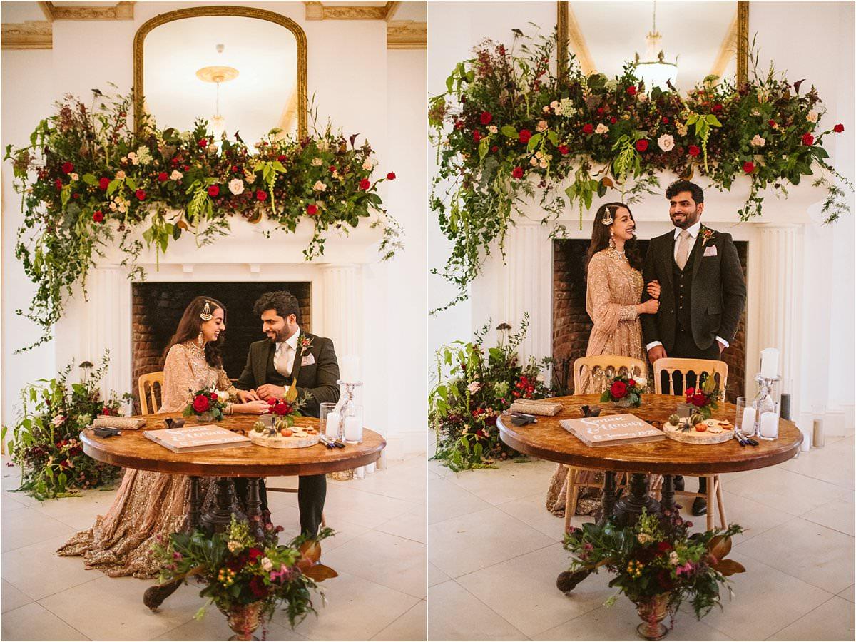 London Islamic wedding photography ring exchange
