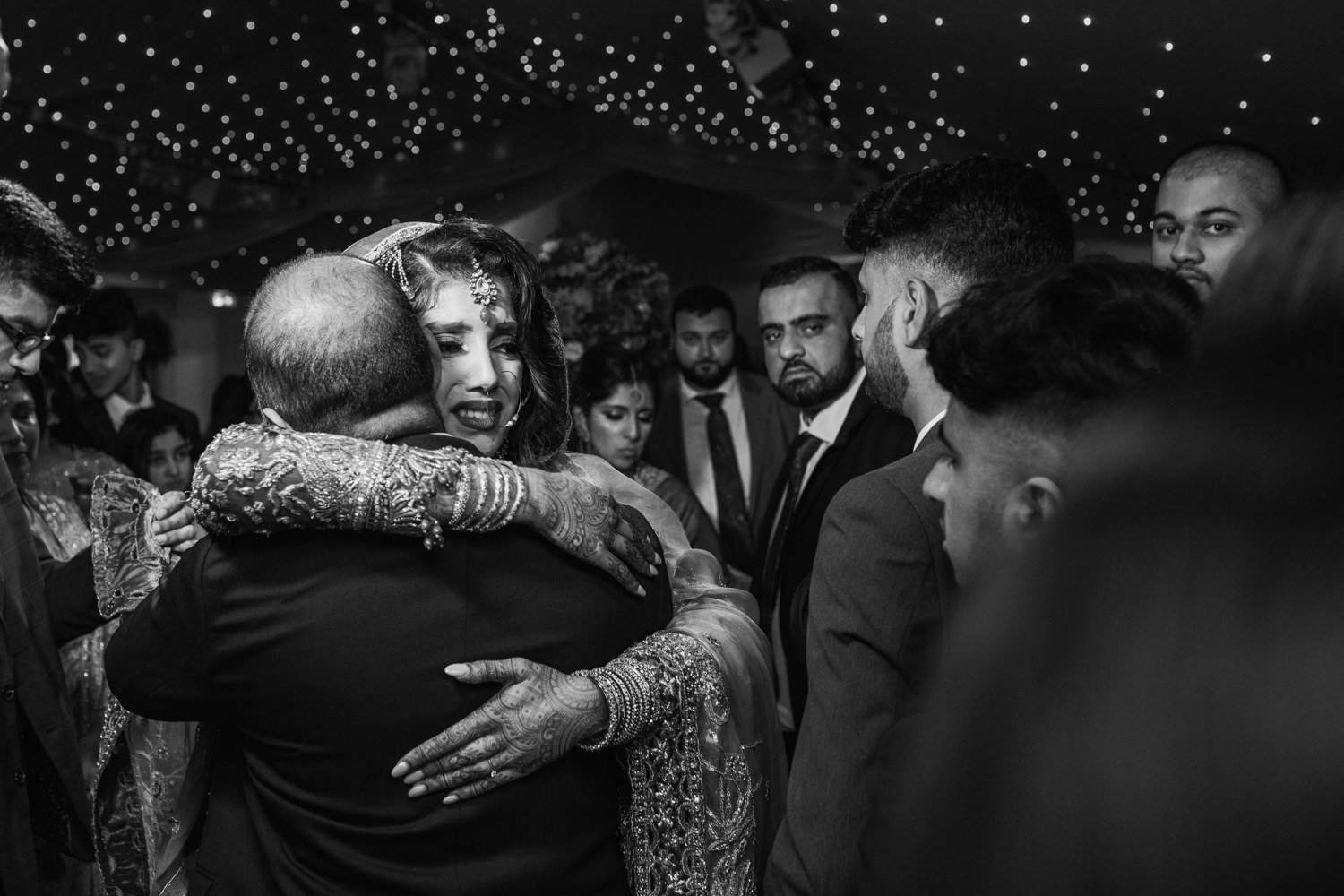 Natural candid Asian Wedding Photographer London at an Indian wedding in Surrey